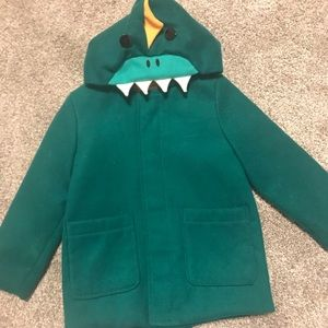 Super cute boy Dino coat